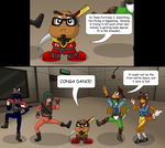 The Dreaded Conga Dance by gameboysage
