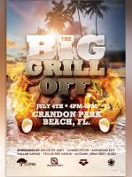 The Big Grill Off Flyer Template by loswl