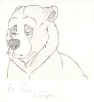 07 Kenai Fanart Brother Bear by Alzurana