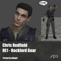 Chris Redfield RE1 Rockford Gear by Adngel