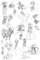 The Nutcracker: Sketches by roseandthorn