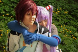 I'm carrying her everywhere... [Tales of Graces f] by JunAkera
