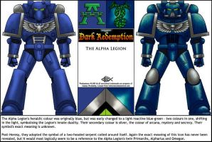 DR: Alpha Legion by Koilungfish