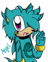 +- Angel the Hedgie: New Character -+ by MissMirabelle