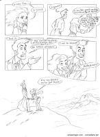Comedians 01 - Doctor Who by aimeekitty