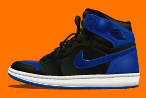 AIR JORDAN blue by KLRbee