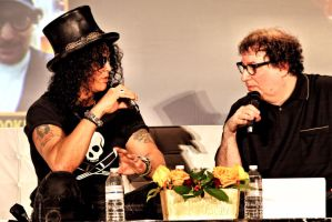 Slash and Bookie by basseca
