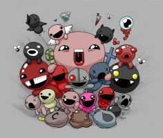 The Binding of Isaac - BFFs by blckwht