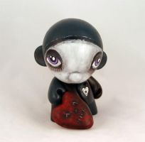 Valentines Day Munny by livingindarkness