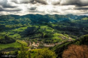 Wide Nature (Color Version) by artofphotograhy