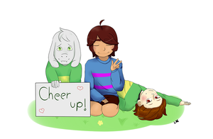 Cheer Up!! by LimeSpark