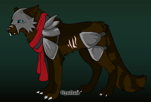 100 Themes - Knight Wolf Adopt - Adopted by Feralx1