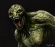Amazing Spiderman Lizard design by JSMarantz