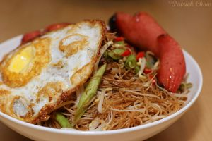 Fried vermicelli by patchow