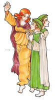 Dante and Beatrice by mallikinney