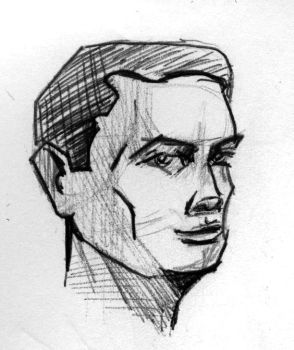 161231E - Male Face by james-sager