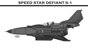 Speed Star Defiant S-1 by archaznable30