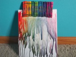 Melting crayon picture by DiversityDanceQueen