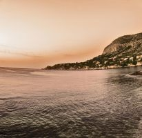 A special sunset by Gabarte