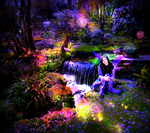 a faerie boy living in a faerie world by Matthew-Icarus