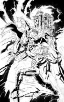 From Eternia with Death! Inks. by Axel-Gimenez