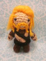 The Hobbit Fili the Dwarf Amigurumi Doll by Spudsstitches