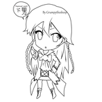 Pandora Hearts Alice-tan Chibi by Grumpythesheep