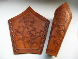 Elvish Bracers by PeacefulMynd