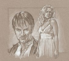 WIP Bill and Sookie by scotty309