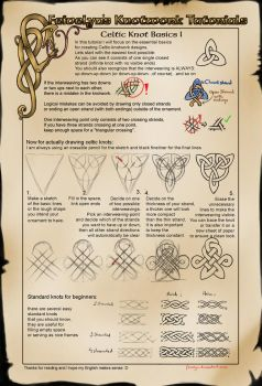 Celtic Knot Tutorial: Basics I by Feivelyn