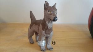 Wolfs Rain- Clay Toboe by TheSapphireWolfFox