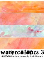 Watercolours - Set 3 by lookslikerain