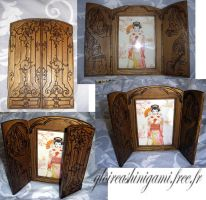 diptych  frame by GreatShinigami