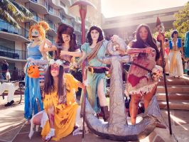 Twisted Disney Princess Cosplays by SNTP