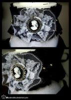 +__ Victorian gothic choker by Macabreskiss