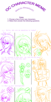 OC Character Meme - Intro To My OC's 83 bzzz~~ by Verliet427