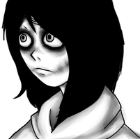 Jeff the killer doodle by serpentinesanguinine