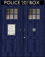 TARDIS Background by Maleficent84