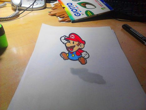 SuperMario 3D drawing :D by Simone93