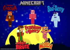 Monster Cereals Minecraft Skins by theguywhoishere