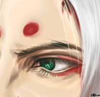43. dying. kimimaro by coverpencil