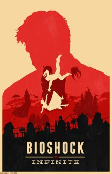 Bioshock Infinite poster by billpyle