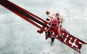 LeBron James by FuTboleroArTs