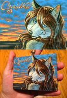 Casidhe's Sunset - badge by KatieHofgard