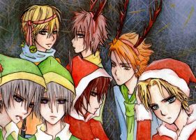 A Vampire Knight Christmas by ARii-CHANx3