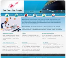 courier website by devender87