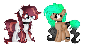 (C) Paint Dazzle and Red Cherry by BloodLover2222