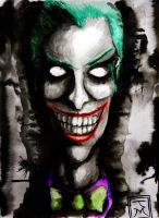 The Joker: Portrait of Chaos by mistergrinn