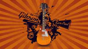Gibson Les Paul Wallpaper by blackcan1122