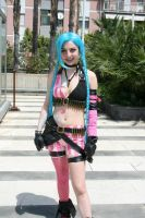 Jinx cosplay by TheKikih